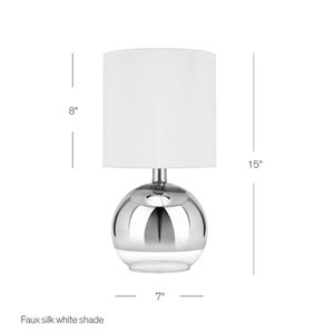 Catalina 15 -in Glass Table Lamp