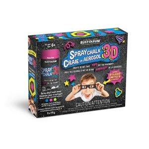 Rust-Oleum 3D Spray Chalk Kit