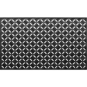 KORHANI Studio Decorative Etal Rubber Door Mat