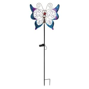 Fusion Solar Butterfly Stick Light with Microdot LED's