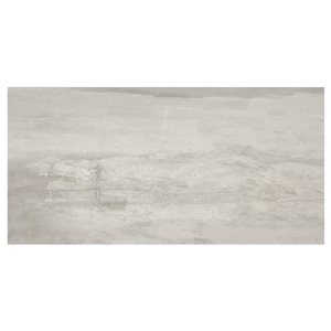 American Olean 12-in x 24-in Westbend Soft Gray Porcelain Floor and Wall Tile