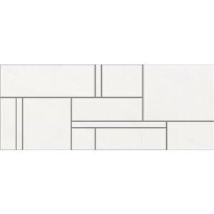 DELLA TORRE 8-in x 20-in Bastia White Ceramic Wall Subway Tile