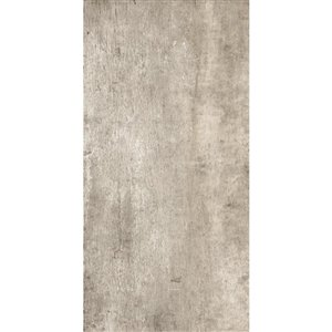 American Villa 12-in x 24-in Wall Street Ash Porcelain Slate Floor and Wall Tile