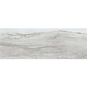 American Villa 4-in x 12-in Water Falls River Rush Porcelain Limestone Floor and Wall Tile