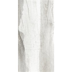 American Villa 12-in x 24-in Water Falls River Rush Porcelain Limestone Floor and Wall Tile