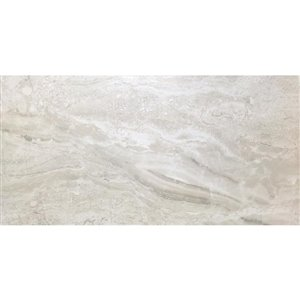 Avenzo 12-in x 24-in Avenzo Sand Porcelain Floor and Wall Tile