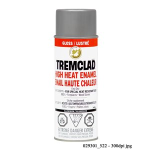 Rust-Oleum 340g Gloss High Heat Enamel Spray Paint