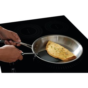 Frigidaire Gallery 36-in 5-Element Induction Cooktop (Blackl) ENERGY STAR