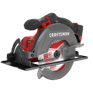 CRAFTSMAN 20-Volt MAX 6 1/2-in Cordless Circular Saw (Tool Only)