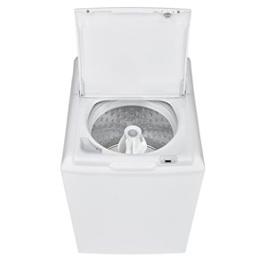 GE 4.4-cu ft High-Efficiency Top-Load Washer (White)