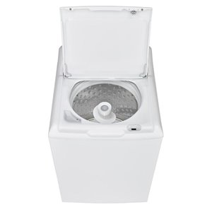 GE 4.9 cu ft High-Efficiency Top-Load Washer (White)