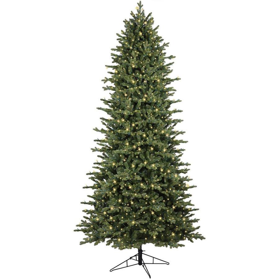 9 Artificial Christmas Tree.Ge 9 Ft Ashville Fir Led Artificial Christmas Tree