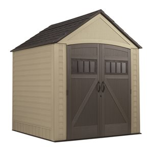 Rubbermaid 7-ft x 7-ft Roughneck Storage Shed