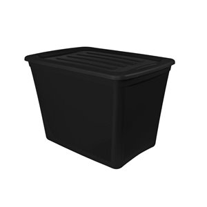 Gracious Living 72 Litre Tote with Snap Lock Lid