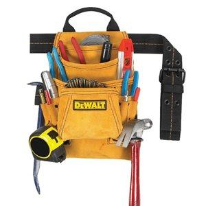 DEWALT General Construction Leather Tool Pouch