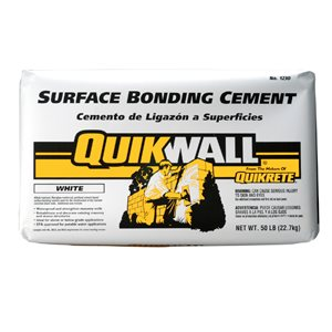 Quikwall 50-lb White Cement Mix