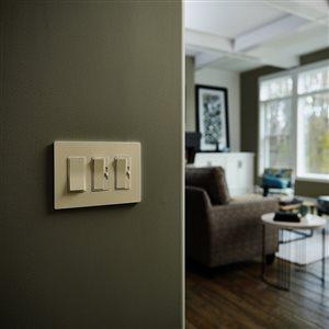 Pass & Seymour/Legrand 15-Amp Ivory Decorator Light Switch