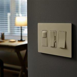 Legrand 15-Amp Light Almond Decorator Light Switch