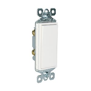 Legrand 15-Amp White Decorator Switch (10-Pack)