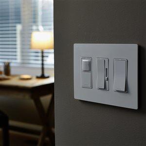 Legrand 15-Amp White Decorator Light Switch