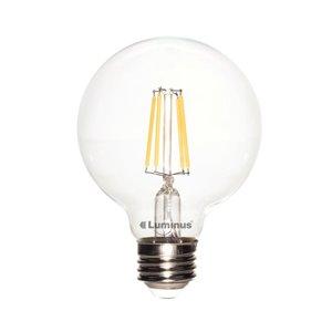 Luminus 40-Watt/450 Lumens Medium Base (E-26) Dimmable Globe LED Light Bulb (2-Pack)