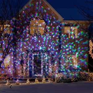 Gemmy Lightshow 5-Lense Mega Projection Plus