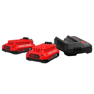 CRAFTSMAN 2-Pack 20 max-Volt Lithium Power Tool Battery
