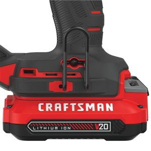 CRAFTSMAN 20 max-Volt Finish Cordless iler with Battery