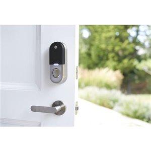 Yale Nest x Yale Lock Security Alarm Keypad with Next Connect (Satin Nickel)