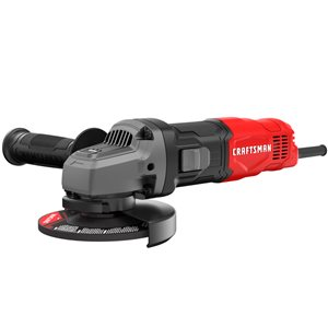 CRAFTSMAN 4.5-in 6-Amp Corded Small Angle Grinder (CMEG100)