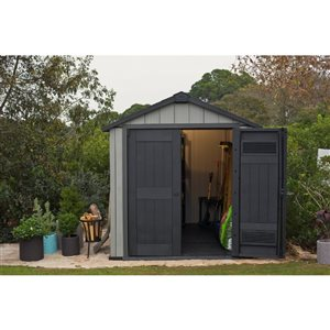 Keter 7-ft x 7-ft Oakland Gable Storage Shed