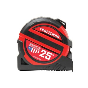 CRAFTSMAN PRO-13 1.25 x 25-ft Tape