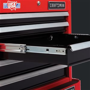 CRAFTSMAN 26-in W x 19.75-in H Red 5-Drawer Steel Tool Chest