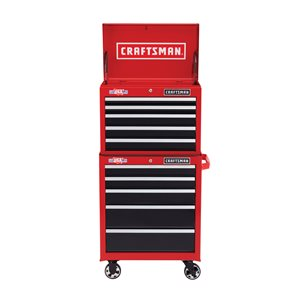 CRAFTSMAN 26.5-in W x 34-in H 5-Drawer Steel Tool Cabinet (Red)