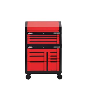 "CRAFTSMAN 41"" W x 37"" H - 8 Drawer Steel Tool Cabinet (Red)"