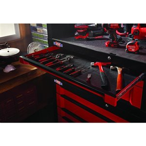 CRAFTSMAN 54-in W x 24.5-in H Red 6-Drawer Steel Tool Chest