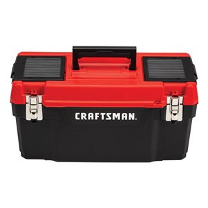 CRAFTSMAN DIY 16-in Plastic Lockable Tool Box
