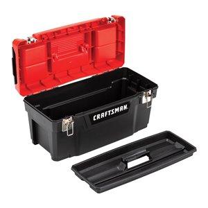 CRAFTSMAN DIY 20-in Plastic Lockable Tool Box