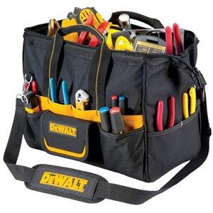 DEWALT 8-in Zippered Closed Tool Bag