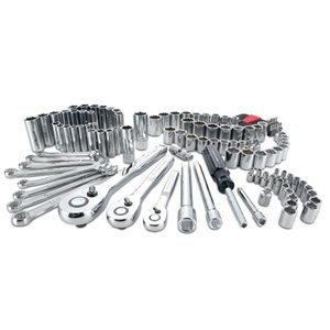 CRAFTSMAN 135-Piece Standard (SAE) and Metric Mechanic's Tool Set