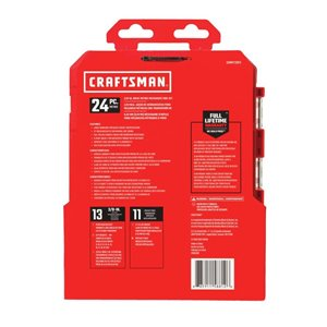CRAFTSMAN 24 pc. 3/8 In. DR Nano MM