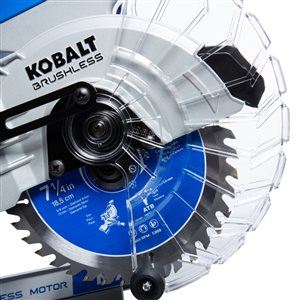 Kobalt 7-1/4-in 0-Amp Dual-Bevel Sliding Miter Saw