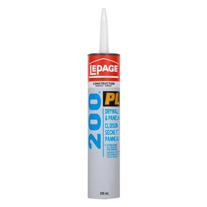 LePage PL 200 295mL Panel and Construction Adhesive