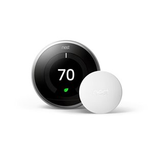 Google Temperature Sensor White Smart Room Sensor (Wi-Fi Compatible)