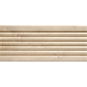 1/2 x 3 x 7-ft Whitewood Reeded Casing