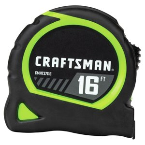 CRAFTSMAN 16-ft Hi-Vis Tape Measure
