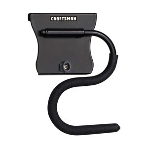 CRAFTSMAN VersaTrack Wall Storage Rail Accessory- Curved Pivot Hook