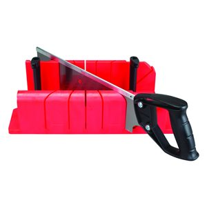 CRAFTSMAN 12-in Saw and Clamping Miter Box