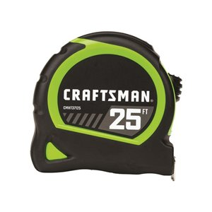 CRAFTSMAN HI-VIS 1 X 25-FT TAPE