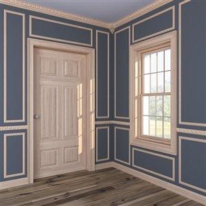 EverTrue 4.18-in x 4.18-in x 8.625-in Stain Grade Whitewood Outside Corner Crown Moulding Block